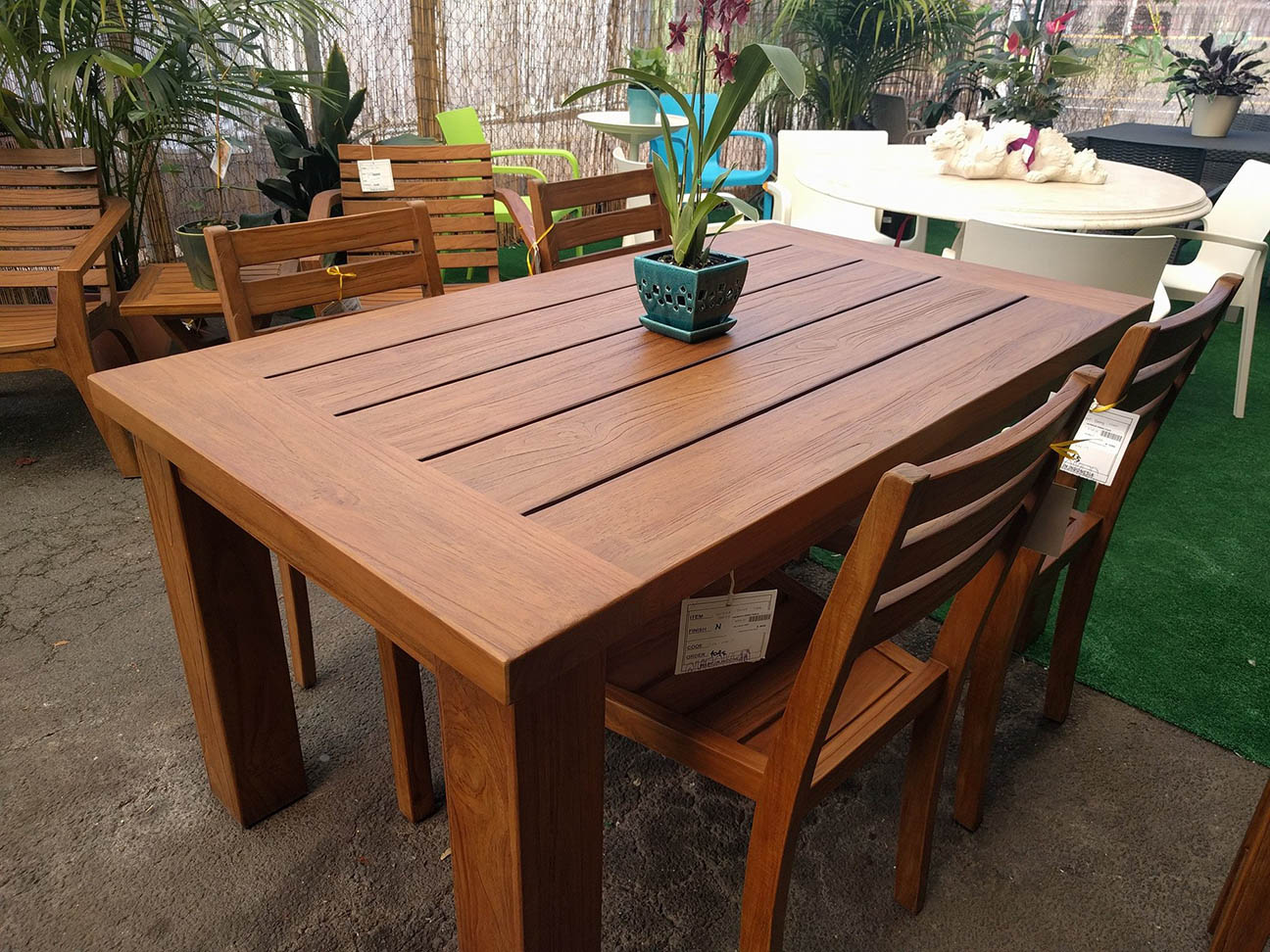 New Teak and Mango Furniture