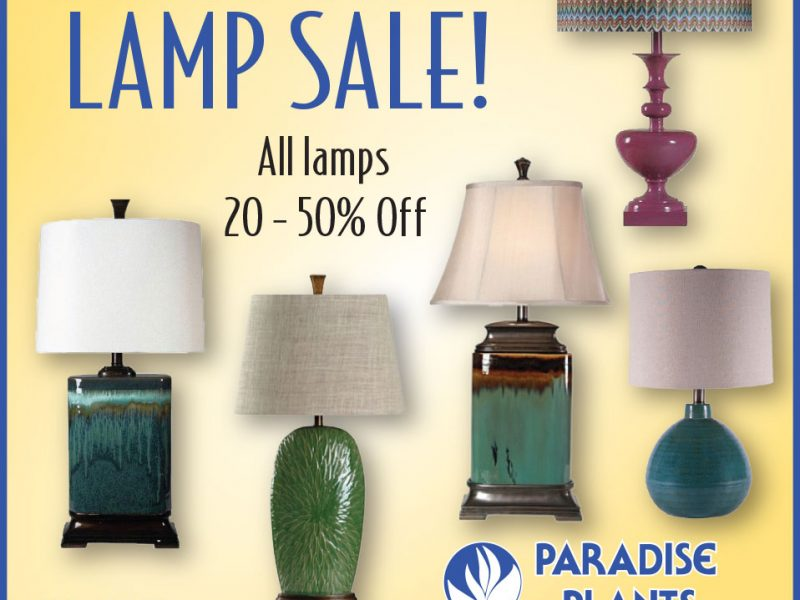 Big Lamp Sale!
