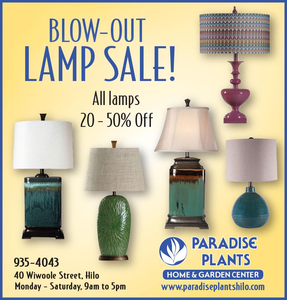 Big Lamp Sale!