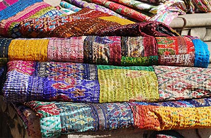 Kantha Quilts are here!
